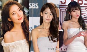 7 mỹ nữ Hàn sở hữu xương quai xanh bao người mơ ước