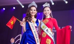 BTC Nữ hoàng Du lịch Quốc tế quên trao vương miện cho Diệu Linh
