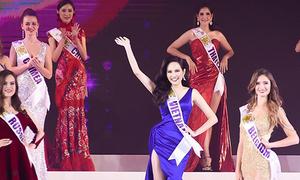 Người đẹp Diệu Linh vào top 10 Nữ hoàng du lịch Quốc tế