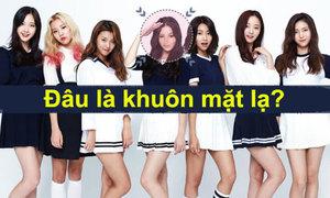 Phát hiện khuôn mặt khác lạ trong nhóm nhạc Kpop