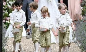 Dàn phù dâu, phù rể 'nhí' cực dễ thương trong đám cưới Hoàng tử Harry