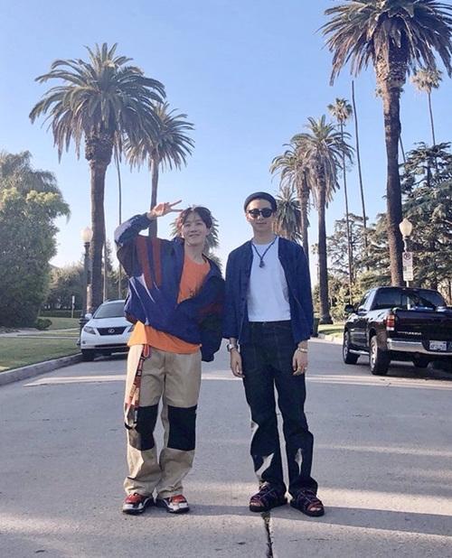 RM và J-Hope (BTS)