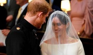 Harry - Meghan thề nguyền trong trong lễ cưới