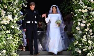 Những khoảnh khắc khó quên trong đám cưới của Hoàng tử Harry