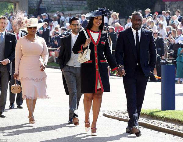 diễn viên người Anh Idris Elba cùng bạn gái