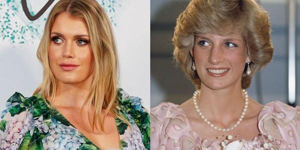Lady Kitty Spencer, 27 tuổi là con gái lớn của Earl Charles Spencer, em trai ruột của Công nương Diana. Mẹ cô, Victoria Lockwood, vốn là một người mẫu