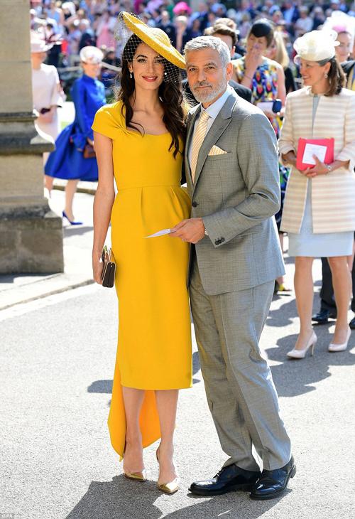 Sự xuất hiện củaGeorge Clooney cùng vợ