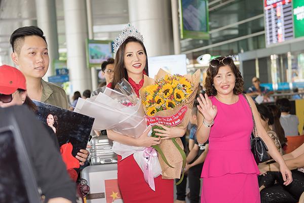 Ngày 19/5, Nguyễn Diệu Linhđáp chuyến bay từ Bangkok về TP HCM, kết thúc hành trình hơn 2 tuầntham gia cuộc thi Miss Tourism Queen International 2018. Cô đạt thành tích vào top 10 chung cuộc và danh hiệu Hoa hậu Du lịch toàn cầu - Miss Global Tourism 2018.