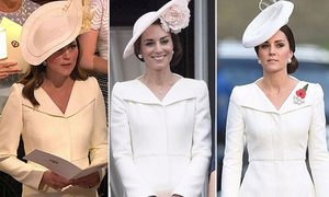 Váy dự đám cưới của Công nương Kate là đồ cũ 'mặc đi mặc lại'