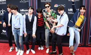 BTS đọ chất cùng Taylor Swift tại lễ trao giải Billboard