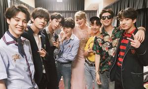 Fan biến lễ trao giải Billboard thành concert riêng của BTS