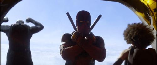 Nhóm siêu anh hùng X-Force với những câu thoại gây cười.