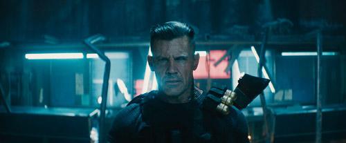 Nhân vật mới Cable với nhiều bất ngờ trong phim.
