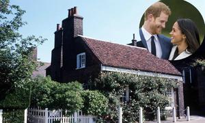 Được tặng quà cưới là cả lâu đài, Harry và vợ chọn sống nơi giản dị