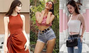 Street style sao Việt tuần qua: Người kiệm vải, kẻ kín mít