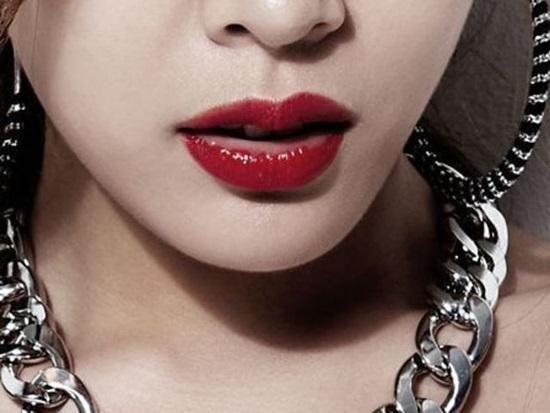 Idol nữ Hàn nào sở hữu đôi môi này? (2) - 1