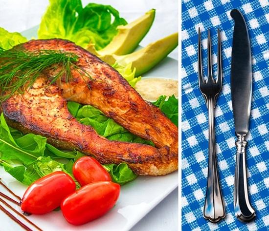 Món nào phải dùng dao dĩa, món nào có thể ăn bằng tay? - 3