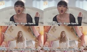 MV đậm chất Tây của Min bị so sánh với MV của Taylor Swift