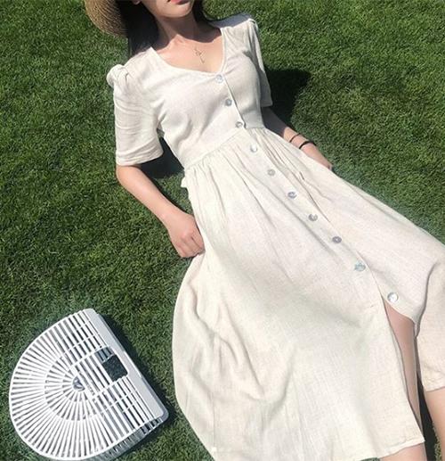 Mẫu váy hot nhất hè phủ sóng khắp các shop thời trang - 6