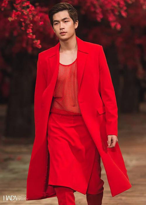 Anh chàng từng catwalk trong show The Muse 2 của Đỗ Mạnh Cường.