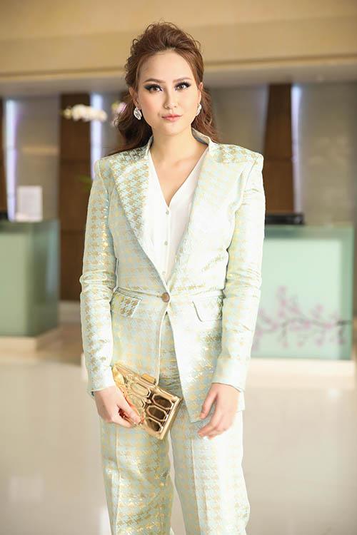 Hoa hậu Hoàn cầu Khánh Ngân.