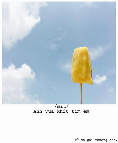 Bộ ảnh thả thính bằng trái cây cực yêu của 9X Sài thành - 2