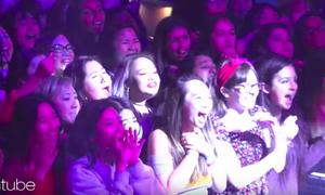 BTS khiến fan nữ đồng loạt 'ôm tim' khi quẩy 'Fake Love' ở Mỹ