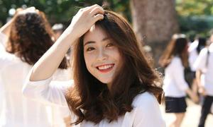Mỹ Huyền - teen girl Chu Văn An xinh nổi bật trong lễ bế giảng