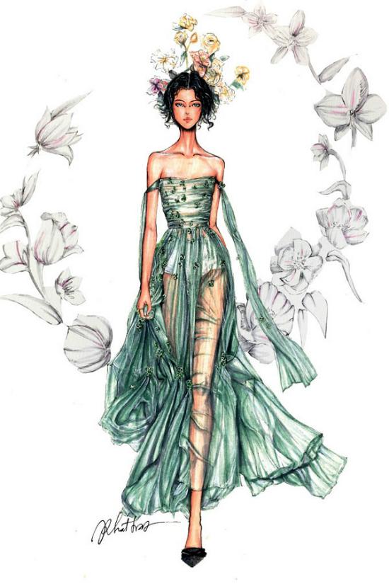 12 chòm sao biến thành nàng thơ thời trang dưới nét vẽ của họa sĩ Việt - 5