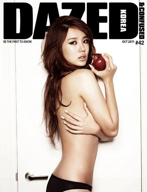 Hội gái ngoan  gái hư Hàn Quốc đọ dáng khi chụp ảnh ngực trần khiêu khích - 4