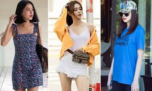 Street style 'không ngại nắng' của sao, hot girl Việt tuần qua
