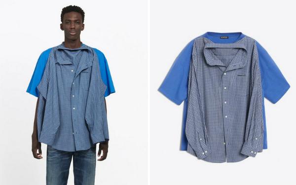 Mẫu áo được rao bán trên website của hãng.