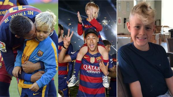 Những hình ảnh gắn kết của Neymar cùng Lucca đủ thấy anh là người bố tâm lý, người bạn đáng tin cậy của con.