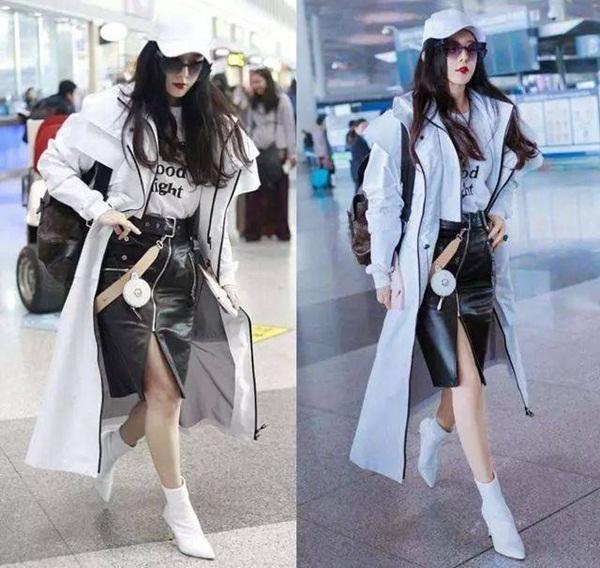 Nữ hoàng thị phi Phạm Băng Băng vốn có thân hình đầy đặn, chân tay to. Nữ diễn viên có hẳn một đội ngũ để chỉnh ảnh thật lung linh trước khi đăng tải lên Weibo.