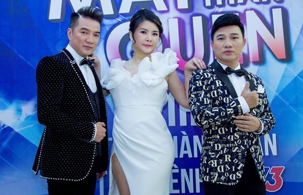 Bộ ba quyền lực của Gương mặt thân quen 2018: Đàm Vĩnh Hưng - Kim Oanh - Quang Linh.