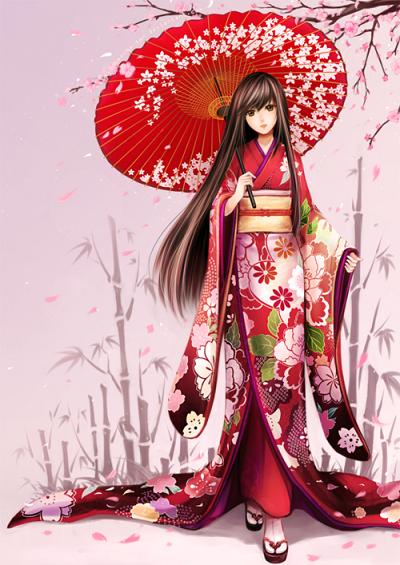 12 chòm sao khi mặc trang phục kimono truyền thống của Nhật Bản - 6