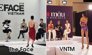 The Face 2018 biến thành 'bản sao' Vietnam's Next Top Model