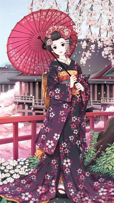 12 chòm sao khi mặc trang phục kimono truyền thống của Nhật Bản - 5