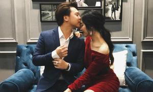 Bạn trai hôn Hòa Minzy trong ngày sinh nhật