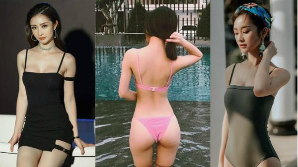 Trong khi đó Jun Vũ là một trong số ít người đẹp thẳng thắn thừa nhận đã trùng tu vòng 1. Ở tuổi 23, Jun Vũ lột xác từ hot girl trà sữa thuần khiết ngây thơ thành cô nàng quyến rũ, gợi cảm. Diễn viên của Những tháng năm rực rỡ chăm chỉ pose hình khoe thân hình nóng bỏng trong bộ bikini hai mảnh, hoặc thiết kế ren trong suốt cùng những đường cut-out táo bạo.