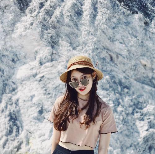 Khánh Vy là hình mẫu hot girl được nhiều người yêu thích vì vừa xinh vừa giỏi.