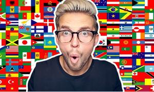 Màu nào không có trong lá cờ của các quốc gia này? (2)