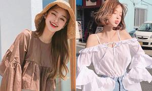 4 kiểu đồ được con gái Hàn đua nhau mặc hè 2018