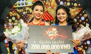 Học trò Minh Tuyết - Quang Dũng đăng quang 'Ai sẽ thành sao'
