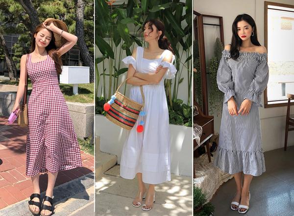 Nếu không phải là một fan trung thành với những kiểu váy áo tắc kè hoa, bạn cũng có thể tìm tới những chiếc váy chất liệu vải thô đem tới sự đơn giản nhưng cũng không kém phần nữ tính. Loại váy này chắc chắn sẽ là một hot item trong hè này nhờ chất vải thoáng mát, thiết kế cũng như màu vải đa dạng tha hồ cho các nàng lựa chọn trong những ngày hè oi nóng.