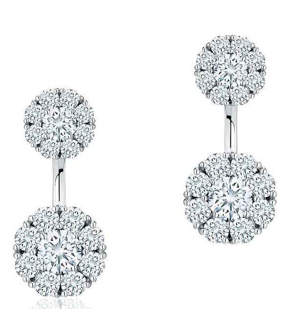 Hoa tai Snowflake.