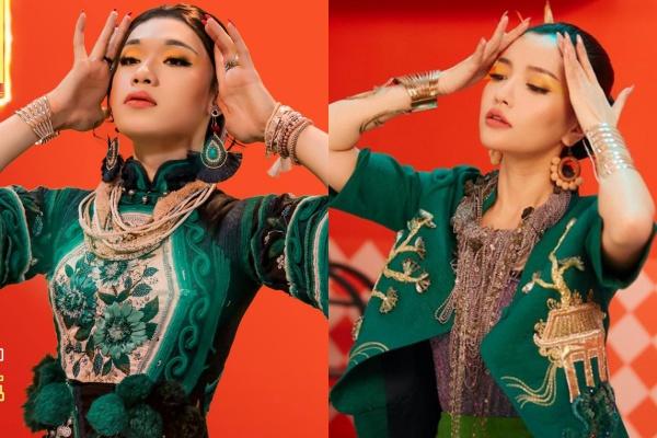 Quang Trung đóng giả Bích Phương xuất sắc.