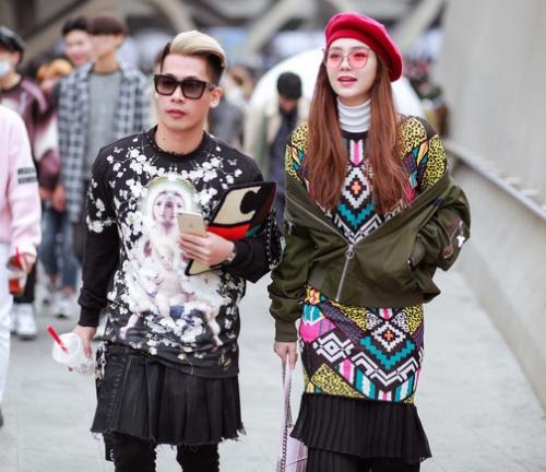 Travis Nguyễn là stylist lâu năm hợp tác với Minh Hằng.