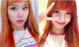 Em út Twice bị 'ném đá' chỉ vì trót nhuộm tóc giống Lisa (Black Pink)