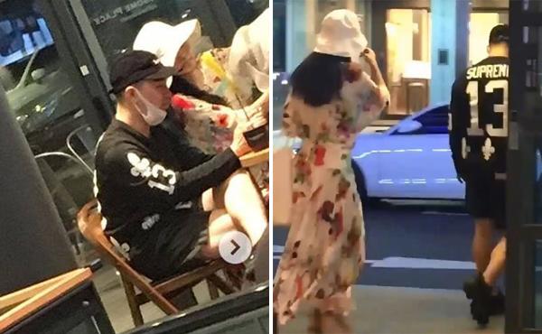 Tae Yang và Min Hyo Rin hẹn hò ở quán cà phê với hai phong cách khác hẳn nhau.